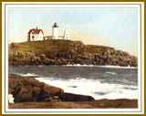 Nubble Light - color